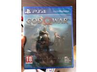 New god of war ps4 sealed delivery