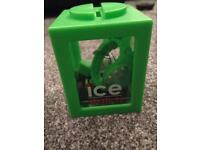 Ice Forever silicon green Wrist Watch clock brand new