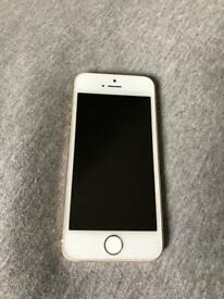 iPhone 5s white / gold - phone only