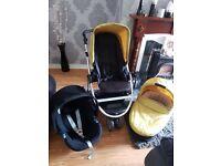 Mamas and papas 3in 1 pram