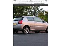 Toyota Corolla T sport alloys 01 to 07 model