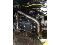 125 cc mxb pit bike hardly used fully running £225