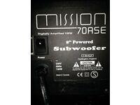 mission 70ase subwoofer