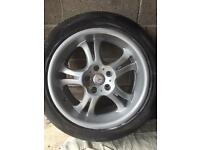 "Set of 17"" Mercedes alloys with tyres"