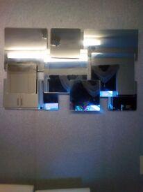 Unusual mirror stunning