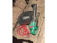 Garden Leaf Blower or Sucker Vacuum Qualcast. Feel free to have a look.