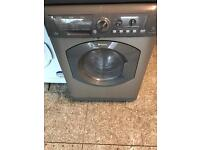Silver hot point washer dryer 7kg