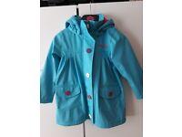 Girls raincoat age 4-5