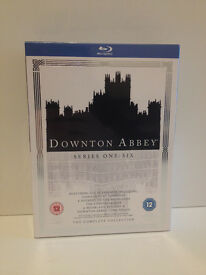 Downton Abbey Complete 1-6 and Specials - BRAND NEW, SEALED Blu-Ray Boxset