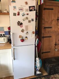 Large Hotpoint fridge freezer. Ideal for large family. Approx 3 years old.