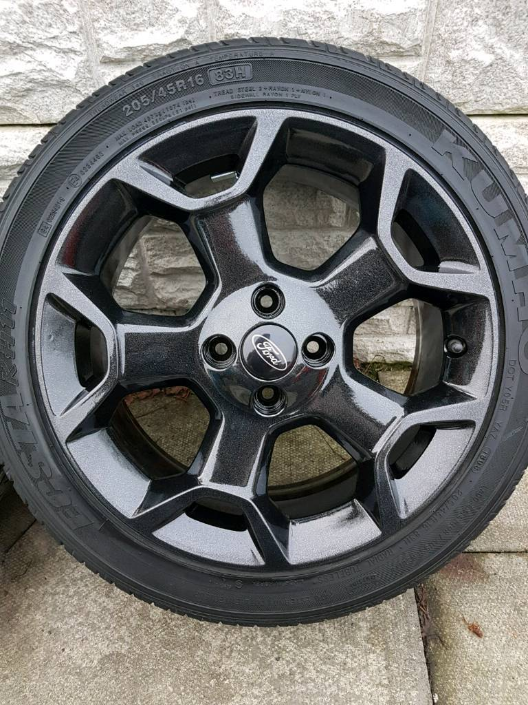 X Ford Ka Mk Alloys