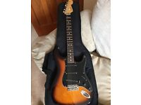 Fender USA Strat with custom shop texas special pickups