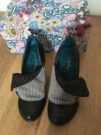 Irregular Choice - Black Heels