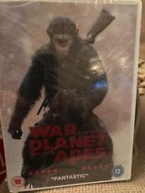 War for the Planet of the Apes and Dawn of the Planet of the Apes