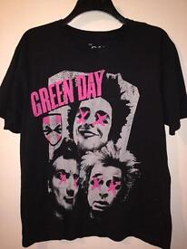 Green Day official band shirt - unisex large