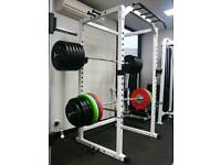 * Wanted Squat Power Rack & Olympic Weights