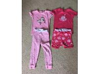 Girls age 2 skinny fit Gap pjs pyjamas unicorn octopus