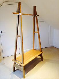 A - Frame Oak Hanging Rail