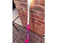 Kookaburra Pink Hockey Stick - fair condition