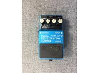 BOSS PS-2 Digital Pitch Shifter / Delay MADE IN JAPAN Vintage Guitar Roland Pedal Rare PS2