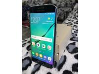 SAMSUNG GALAXY S6 EDGE (SM-G925F) BLACK SAPPHIRE SMARTPHONE - 32GB *GRADE B+* #VODAFONE + BOXED#