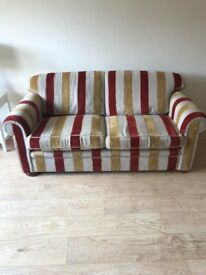 Large 2 seater sofa seats 3