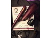 Nicky Clarke hairdryer and straighteners