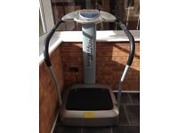 Crazy fit vibro plate for sale, excellent working condition