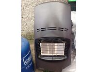 Delonghi gas heater with full gas cylinder