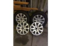 15 inch standard vw touran alloys