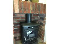fireplace brick inset panels