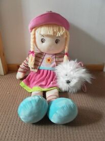 Smyths toys 90cm Ragdoll & Keel Toys dog