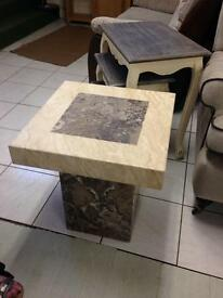Beautiful marble end/lamp table was£260 now only£195