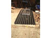 NEW Black Onduline Bitumen Sheet (3.0mm) Onduline extremely tough, lightweight, corrugated roofing