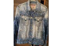 True Religion 'Monogram Trucker' Denim Jacket - Rrp £179.99 - Not Jeans or Hoodie