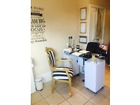 Nail and beauty salon to rent