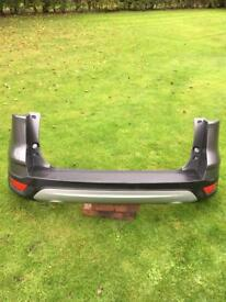 Ford kuga 2014 rear bumper in sterling gray.