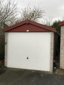 Secure Lock Up Garage for Long Term Rent
