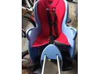 Hamax smiley child bike seat