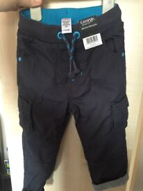 Boys George trousers brand new