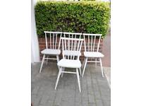 4 Ercol Chairs