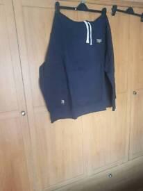 Bnwt men's blue everlast hoodie