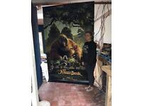 Jungle Book Movie Poster Banner Children's Kids Bedroom Room
