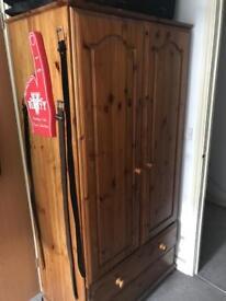 Wooden Wardrobe (53D x 88L x 81H)