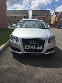 Audi A3 TDIe 1.9 Sport Back 3dr - Silver - Full Service History - 1.9l Engine