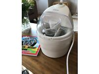 Kenwood Ice Cream Maker + recipe book!
