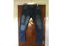 Men's Crosshatch Darkwash Jeans 32R