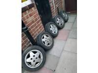 Mk5 Escort alloy wheels