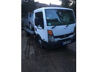 Nissan cabstar recovery truck 2011 61 reg drives exce alloy bed 15ft long 6.7 wide slide away ramps