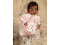 Ethnic Reborn baby doll Gracie